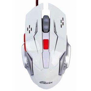 Мышь Ritmix ROM-355 USB White с подсветкой