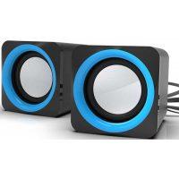 Колонки Ritmix SP-2025 2,0 5Вт Black-Blue