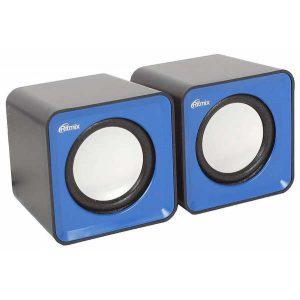 Колонки Ritmix SP-2020 2,0 5Вт Black-Blue