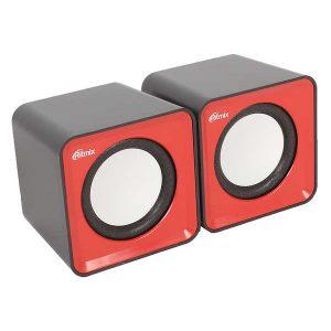 Колонки Ritmix SP-2020 2,0 5Вт Black-Red