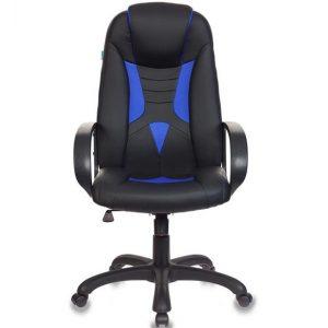 Кресло игровое Бюрократ VIKING-8/BL черный/синий