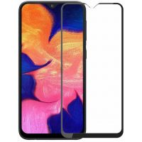 Защитное стекло Samsung A105/A10/A10s Full Glue Black