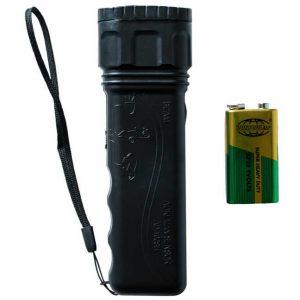 Ультразвуковой отпугиватель собак Aokeman AD-100SH + фонарь + ультразвуковой свисток