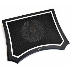 """Подставка для ноутбука DeTech V70 17"""" (160mm Fan) USB 5v Black"""