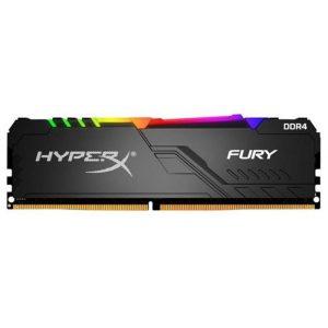 Оперативная память DDR4 8Гб Kingston HyperX FURY Black RGB