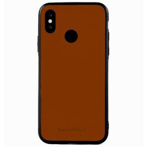 Силикон для Xiaomi Redmi Note 7 зеркало Brown