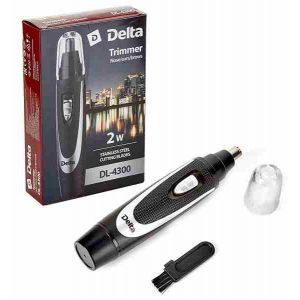 Триммер DELTA DL-4300 черный/серебро, черный/синий