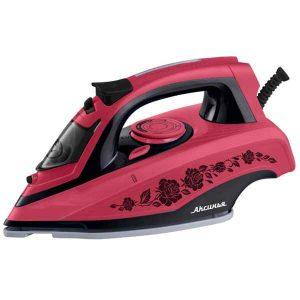 Утюг Аксинья КС-3001 фиолетовый/черный, розовый/черный