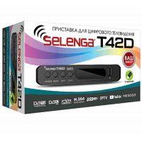 Ресивер T2 Selenga T42D 2USB Т2, IPTV