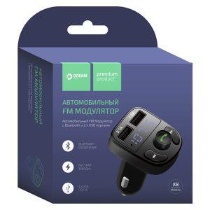 FM модулятор DREAM DRM-X8-01 Bluetooth