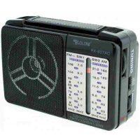 Радиоприёмник GOLON RX-607AC Black
