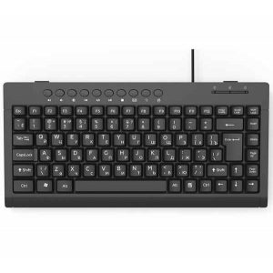 Клавиатура Ritmix RKB-104 USB, Black