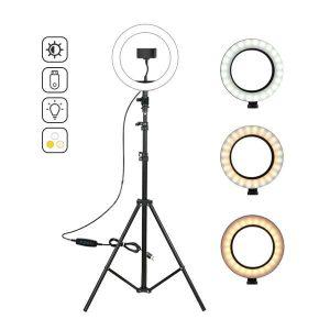 Кольцо для съемки Ring Fill Light + штатив для кольца