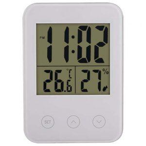 Часы-метеостанция Perfeo Touch PF-S681 (белый)