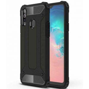 Силикон Samsung A20s Protective Black