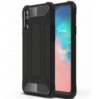 Силикон Samsung A91 Protective Black