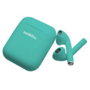 Наушники беспроводные Bluetooth Nobby Practic T-101 Lime