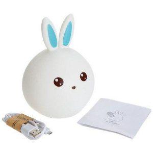 Ночник Rabbit Silicone Lamp