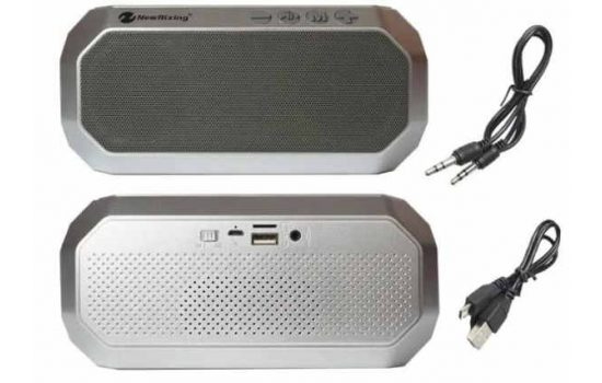 Портативная Bluetooth колонка New Rixing Portable NR-4000 Grey