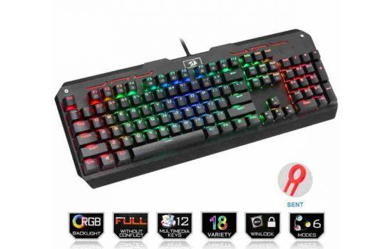 Клавиатура Redragon Varuna механическая клавиатура K559 RGB Black