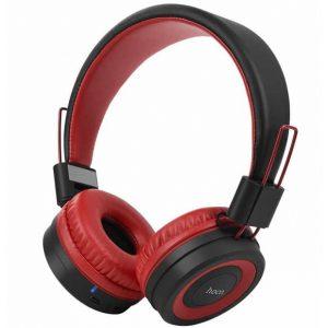 Беспроводные Bluetooth наушники Hoco Extra Bass W16 Red
