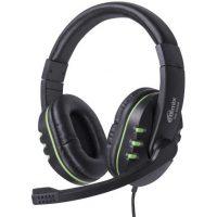 Компьютерная гарнитура RH-555M Gaming Black-Green