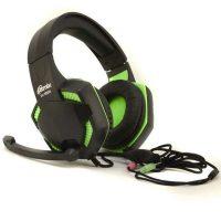 Компьютерная гарнитура Ritmix RH-560M Gaming Black-Green