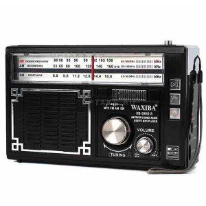 Радиоприёмник Waxiba XB-398U-S Black