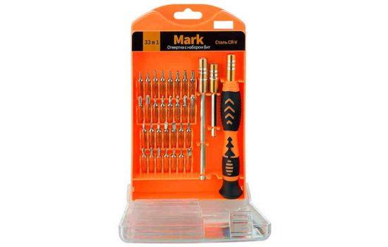 Набор отверток Perfeo Mark с набором бит 33 в 1