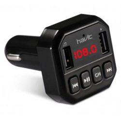 FM модулятор Havit HV-FM808BT Bluetooth