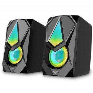 Колонки Havit Gamenote HV-SK563 Black с подсветкой
