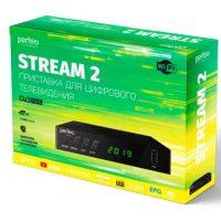 Ресивер DVB-T2 Perfeo Stream 2 TV, Wi-Fi, IPTV, HDMI, 2 USB, DolbyDigital, пульт ДУ (PF_A4488)