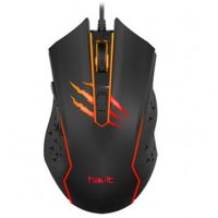 Мышь Havit MS1027 Gaming USB RGB Black