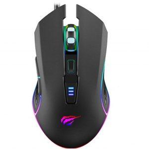 Мышь Havit MS1018 Gaming USB RGB Black