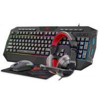 Игровой набор Havit KB501CM Gamenote клавиатура+мышь+гарнитура+ковер Black