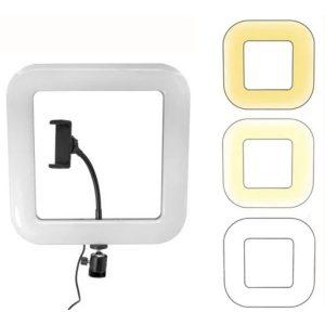 Кольцо для селфи D35 квадрат