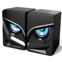 Колонки Havit SK708-BK Gamenote 6Вт RGB подсветка Black