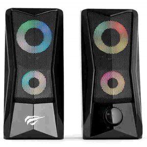 Колонки Havit SK700-BK Gamenote 6Вт RGB подсветка Black