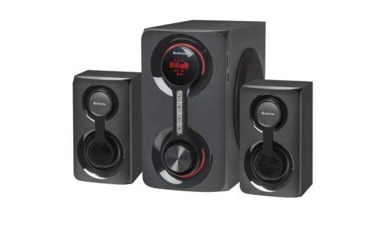 Колонки Defender Tornado 2.1 60Вт Bl/FM/MP3/SD/USB