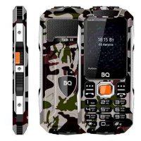 Телефон BQ-2432 Tank SE камуфляж серый
