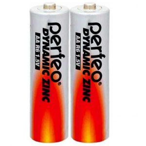 Батарейка Perfeo Dinamic Zinc R06 (AA)