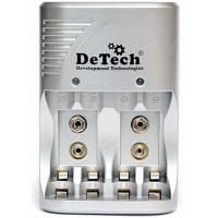 Зарядное устройство DeTech DT-8175T AA,AAA,9V,Ni-MH,Ni-Cd 4 акб+крона