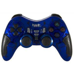 Геймпад Havit HV-G89W PC+PS2+PS3 беспроводной Blue