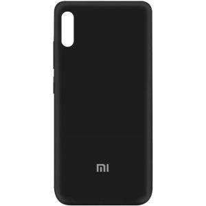 Чехол Силикон Xiaomi Redmi 9A Smitt Purple , Black