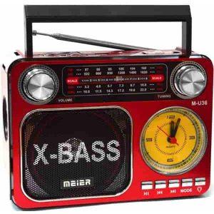 Радиоприемник  Meier M-U36 Red