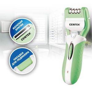 Эпилятор Centek CT-2194 Green