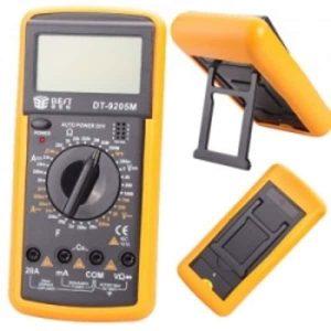 Мультиметр цифровой DT-9205M/A в защитном кожухе
