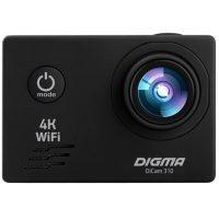Экшн камера DIGMA DiCam 4K 310 Black