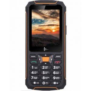 Телефон F+ R280 Black/Orange