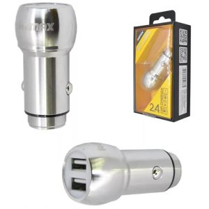 АЗУ REMAX 2USB Car Charger RC-205 Silver/Gold
